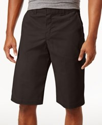 Dickies Flex 13 Relaxed Fit Twill Work Shorts Chocolate Brown
