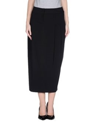 Pianurastudio 3 4 Length Skirts Black