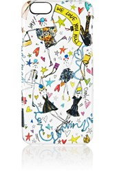 Lanvin Printed Iphone 6 Case White