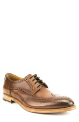 Gordon Rush Percy Wingtip Cognac