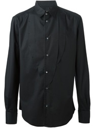 Tom Rebl Elastic Smoking Shirt Black