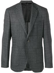 Hugo Boss Single Breasted Blazer Grey