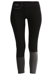 Gore Running Wear Sunlight Lady Tights Black Raven Brown
