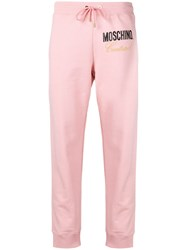 Moschino Track Trousers Pink