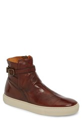 Frye Owen Jodhpur High Top Sneaker Redwood Leather
