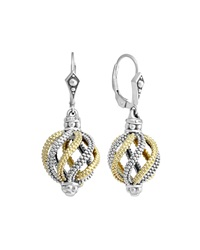 Lagos Soiree Circular Swirl Earrings