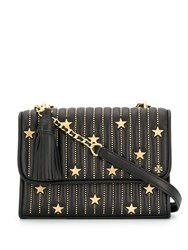 Tory Burch Studded Shoulder Bag Black