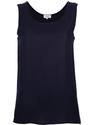 Yves Saint Laurent Vintage Sleeveless Top Blue