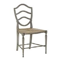 William Yeoward Bodiam Side Chair Greyed Oak
