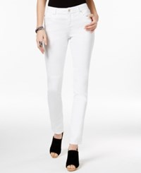 Inc International Concepts Colored Wash Skinny Jeans Only At Macy's White Denim