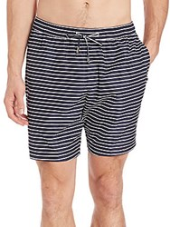 Michael Kors Stripe Swim Shorts Midnight