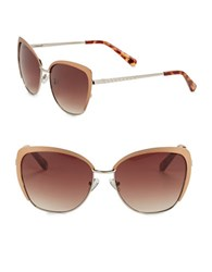 Vince Camuto 57Mm Cat Eye Sunglasses Rose