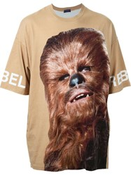 Undercover Star Wars Print T Shirt Brown
