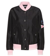 Miu Miu Bomber Jacket Black