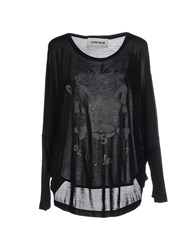 5Preview Topwear T Shirts Women Black