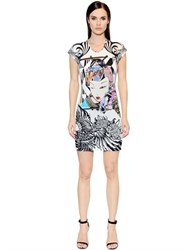 Just Cavalli Printed Viscose Jersey Dress