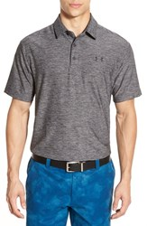 Men's Under Armour 'Playoff' Short Sleeve Polo Carbon Heather