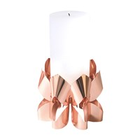 Be And Liv Palea Candle Holder Copper Tall