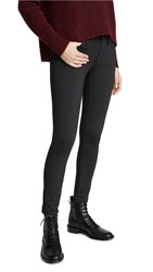 James Jeans Twiggy Ankle Ponte Skinny Pants Charcoal Ponte
