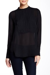 Brochu Walker Harper Silk Blouse Black