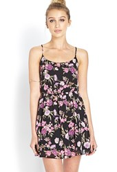 Forever 21 Garden Party Chiffon Dress