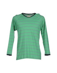 Band Of Outsiders T Shirts Light Green