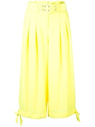 Nicholas High Waisted Culottes Yellow