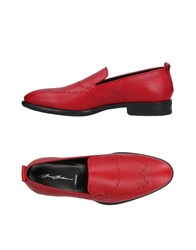 Bruno Bordese Loafers Red
