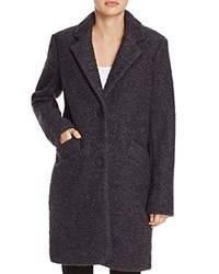 Marc New York Paige Boucle Coat Charcoal