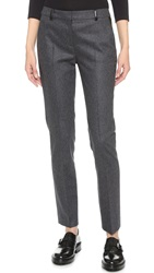 The Kooples Flannel Trousers Grey