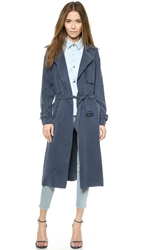 Mason By Michelle Mason Trench Coat Slate