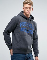 Russell Athletic Logo Hoodie Grey