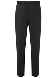 Austin Reed Plain Slim Fit Suit Trousers Charcoal