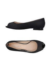 Mellow Yellow Ballet Flats Black