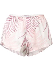 Gilda And Pearl Short Loose Nightwear Shorts Pink And Purple