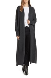 Brochu Walker Orial Wool Cashmere Duster Charcoal