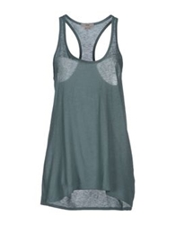 Helmut Lang Tank Tops Military Green
