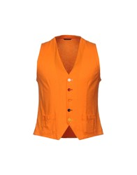 Daniele Alessandrini Grey Vests Orange