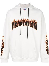 Adaptation Hoodie Cotton M White
