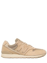 New Balance 996 Suede And Mesh Sneakers
