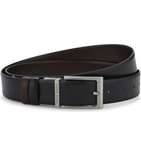 Hugo Boss Orvin Leather Belt Black