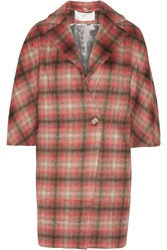 Thakoon Checked Knitted Coat