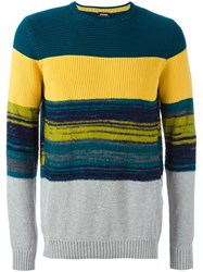 Diesel 'K Baccanalis' Striped Jumper Multicolour