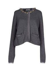Lucky Lu Knitwear Cardigans Women Grey