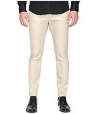 Dsquared Tidy Fit Cotton Twill Chino Pants Stone Men's Casual Pants White
