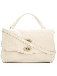 Zanellato Small Postina Handbag Nude And Neutrals