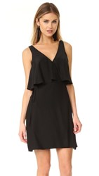 Amanda Uprichard Loretta Dress Black