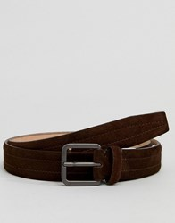 Selected Homme Smart Leather Belt Brown