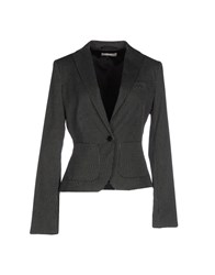 Stefanel Suits And Jackets Blazers Women Black
