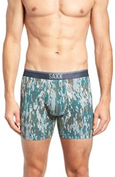 Saxx Quest 2.0 Boxer Briefs Bark Camo